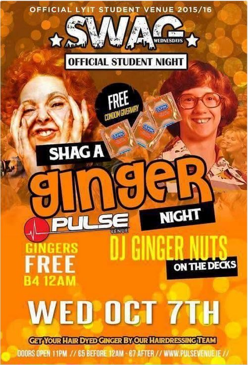 Shag A Ginger Night
