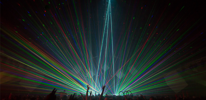 Snowbombing Line Up Released 2016 - Laser Show