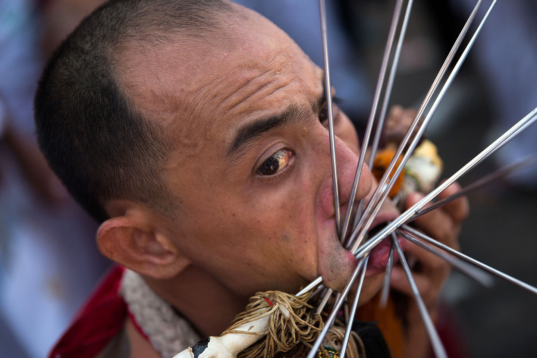 Thailand Celebrates 2015 Vegetarian Festival
