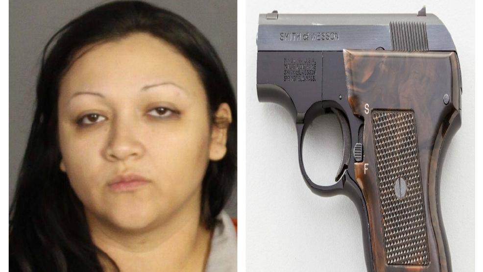 Woman Loaded Gun