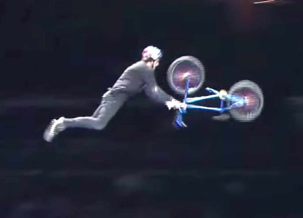 World's First No Handed BMX Flip