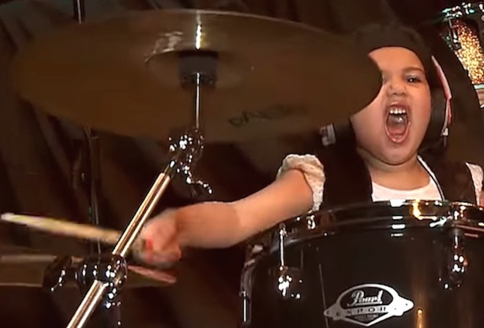 5 Year Old Girl System Of A Down Cover