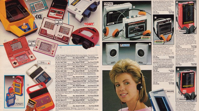 Argos Catalogue 1980s