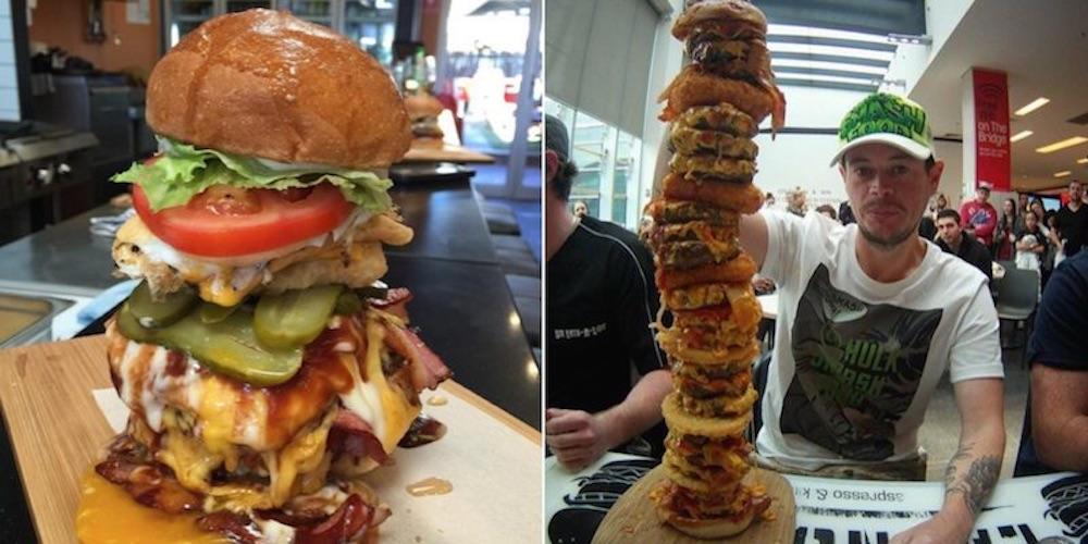 Australian Dude Most Insane Burgers Featured