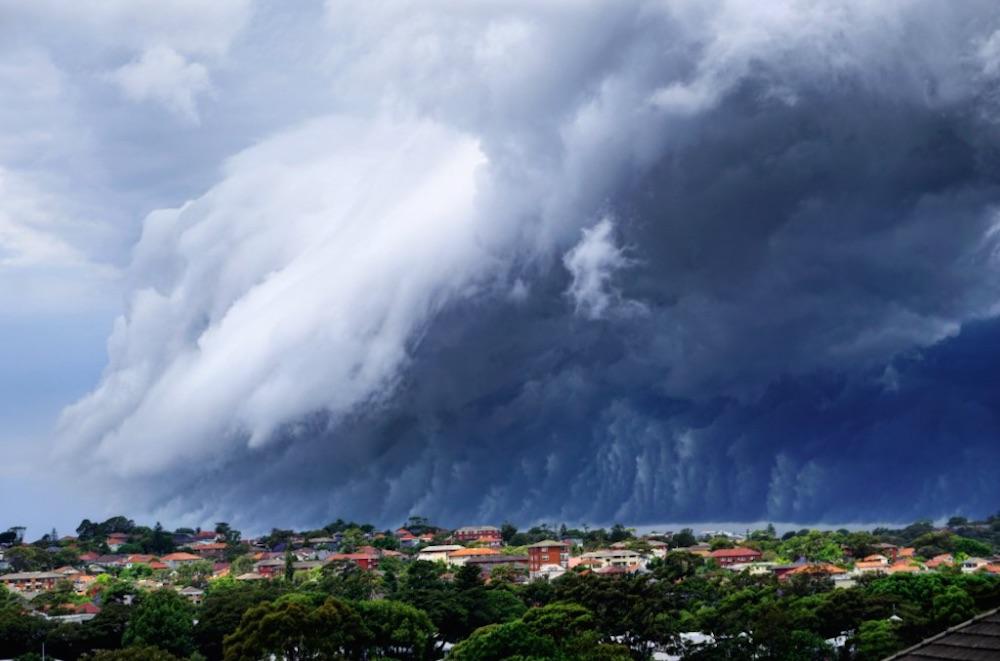 Australian Tsunami Cloud