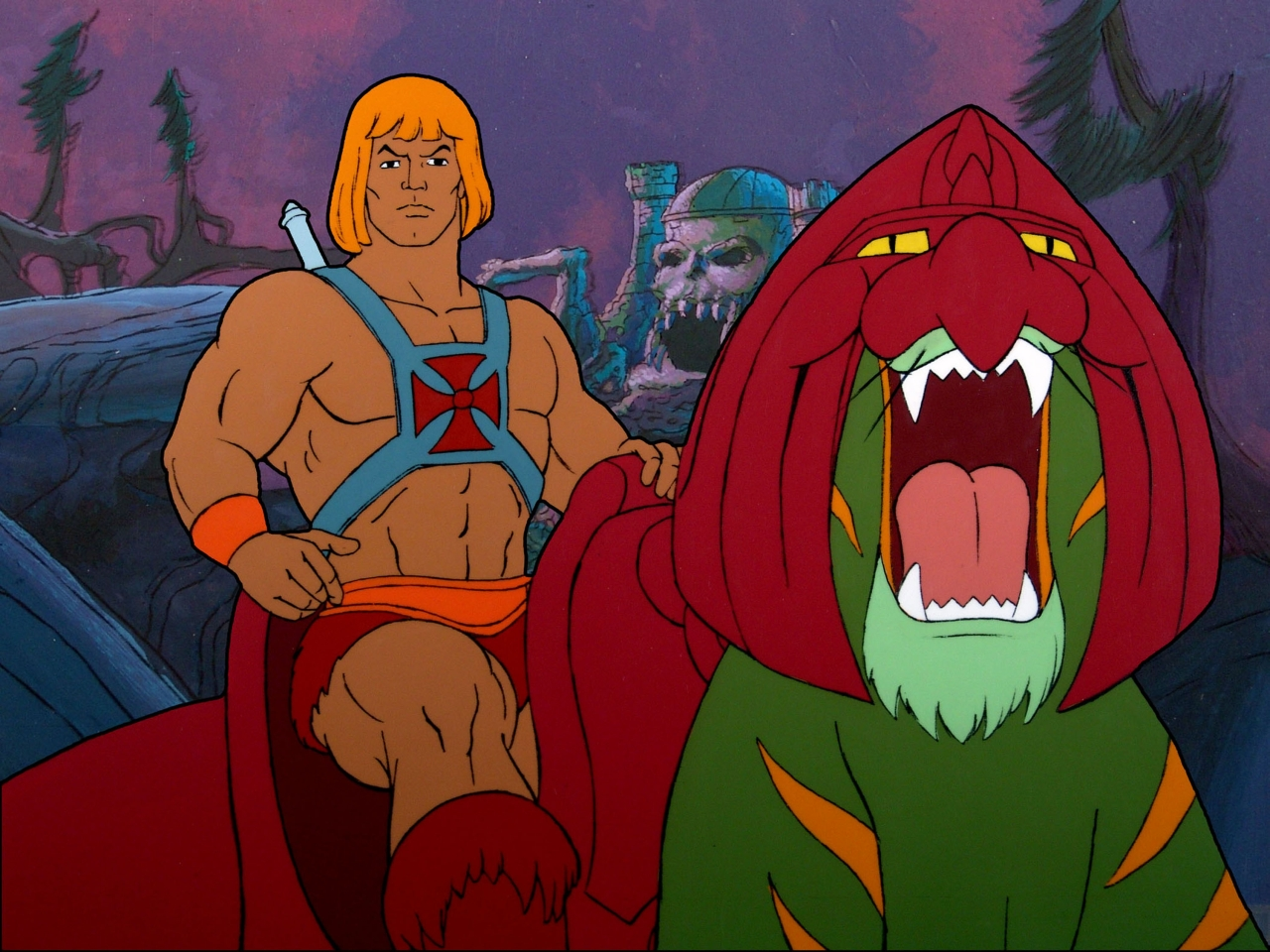 Last year's He-Man DVD release was surprisingly successful. (AP Photo/HO/Courtesy of BCI Eclipse)