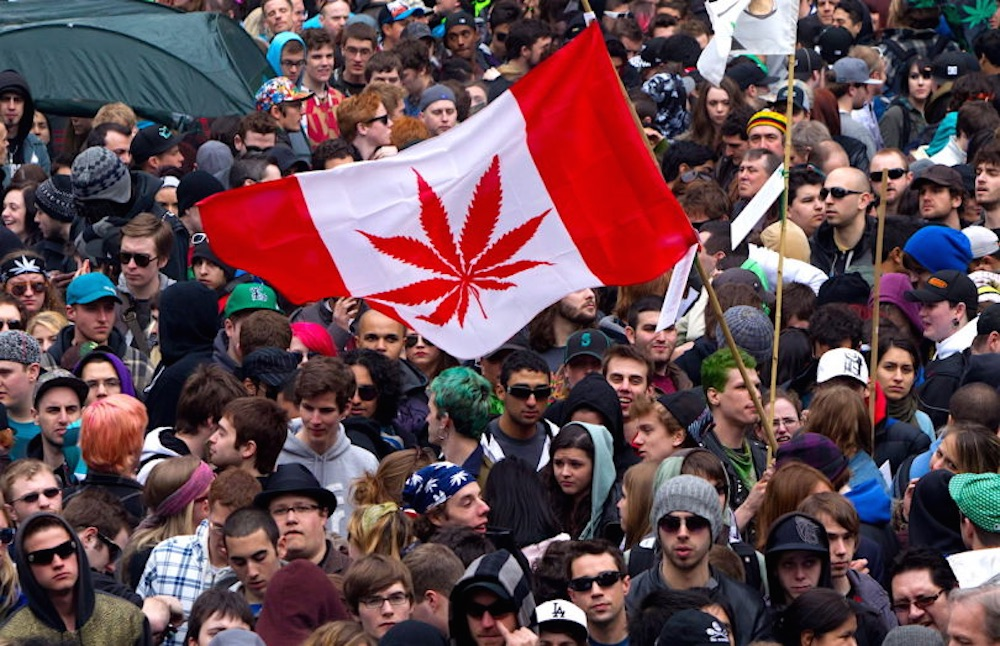 Canada Legalise Weed