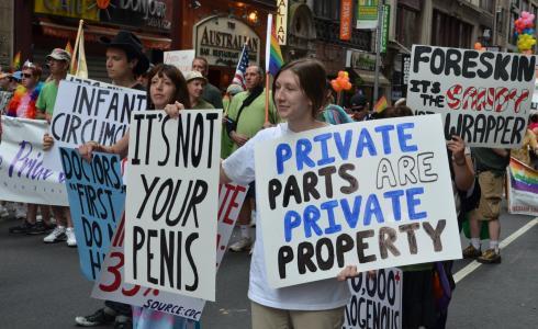 Circumcision - Inact America Demonstration
