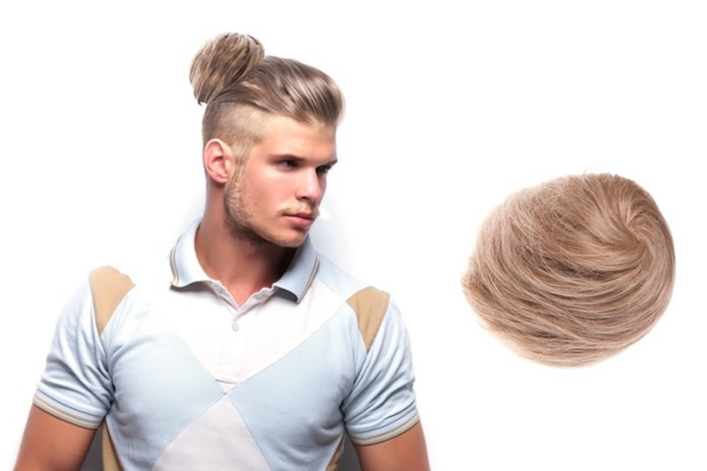 Clip On Man Bun