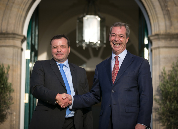 Conservative Party Donor Arron Banks Turns His Support UKIP