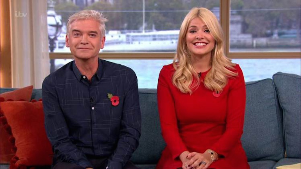 Holly Willoughby Sexually Inappropriate THis Morning