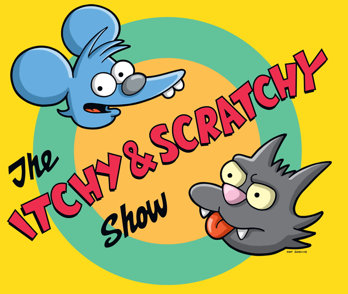 Itchy And Scratchy Copol Cat