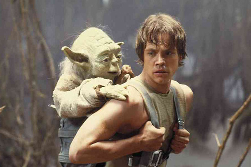 Luke Skywalker Yoda 2