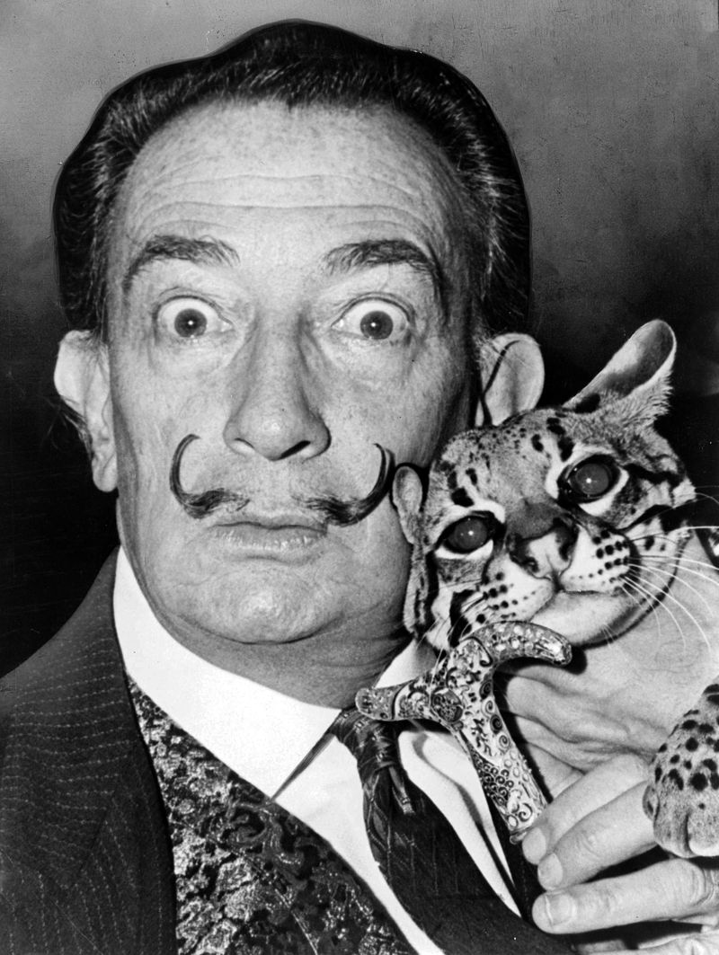Ocelot Cool Cat With Dali