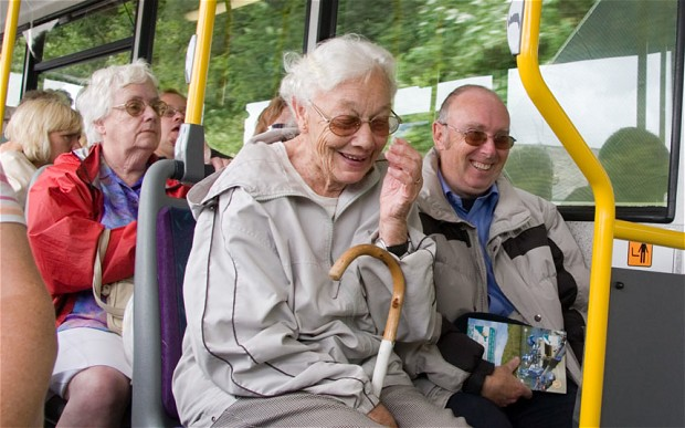Old Person Bus