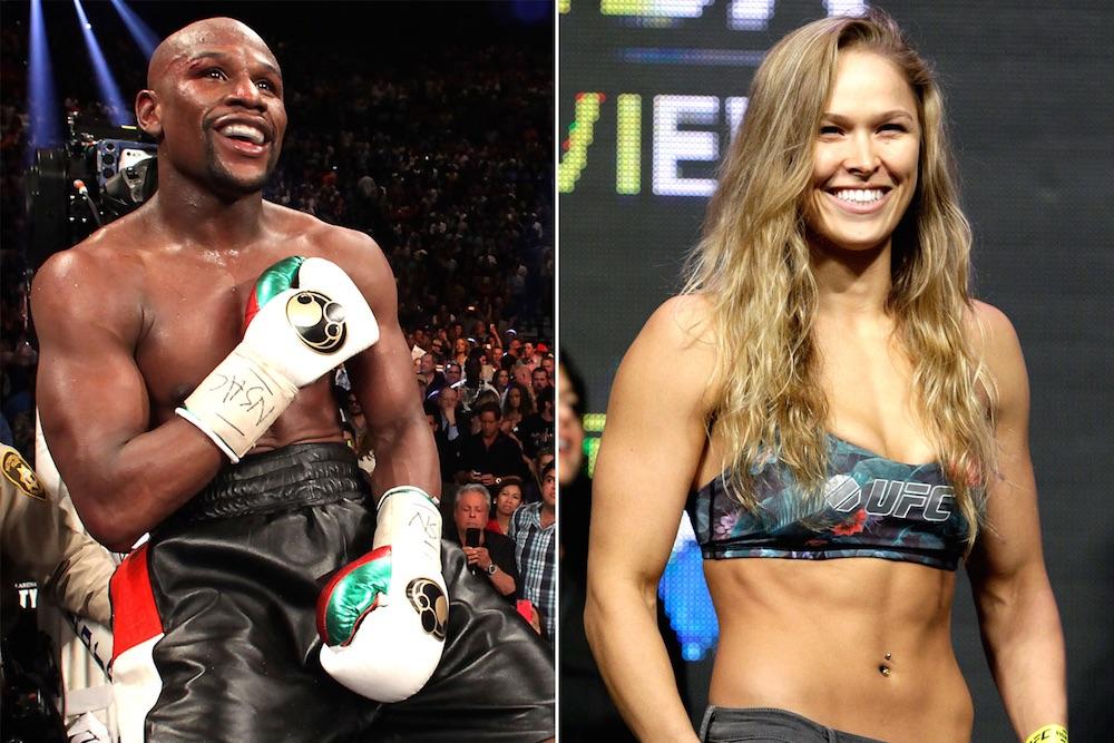 Ronda Rousey Floyd Mayweather