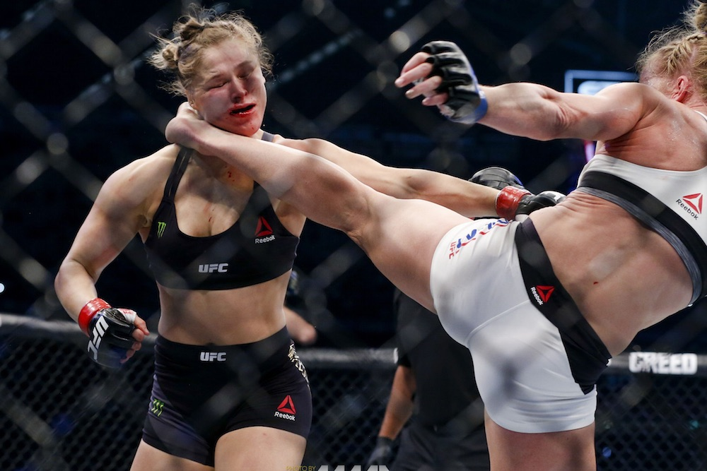 Ronda Rousey Knockout Holly Holm