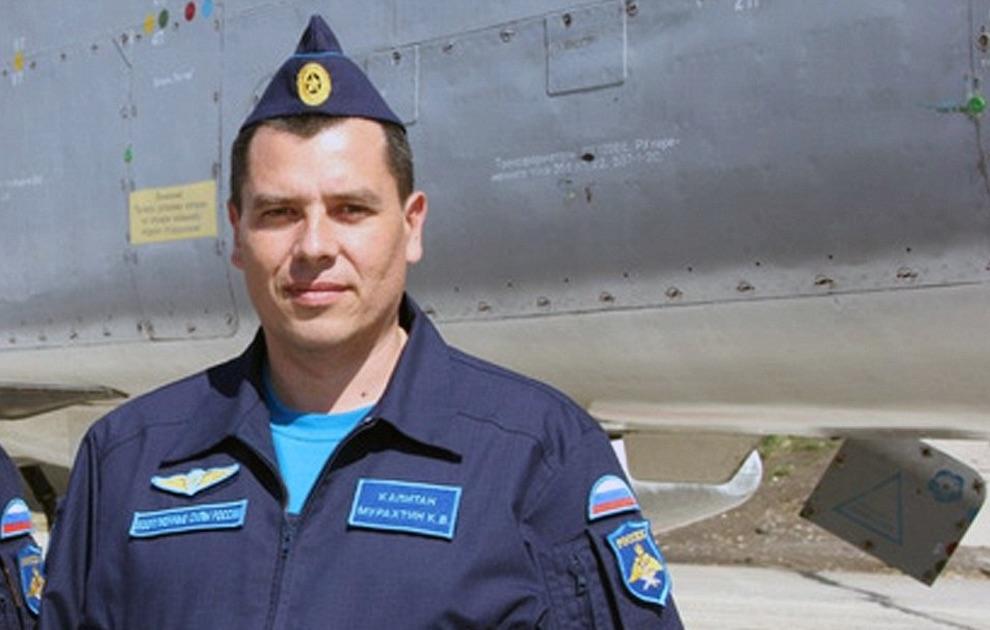 Russian Pilot Shot Down Syria