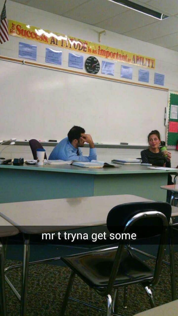Teacher Rejections Snapchat 1