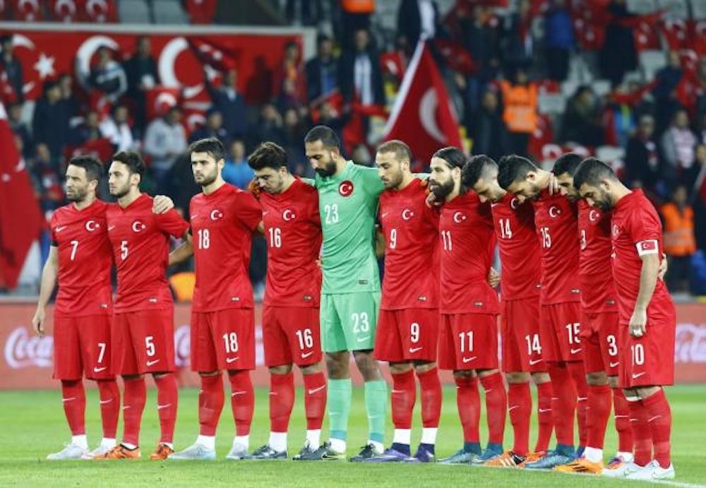 Turkish Soccer Fans Boo Silence