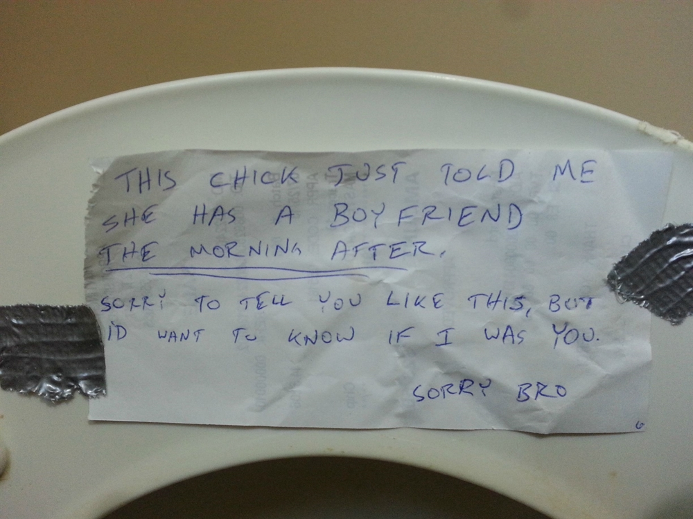 Under The Thumb - Toilet Seat