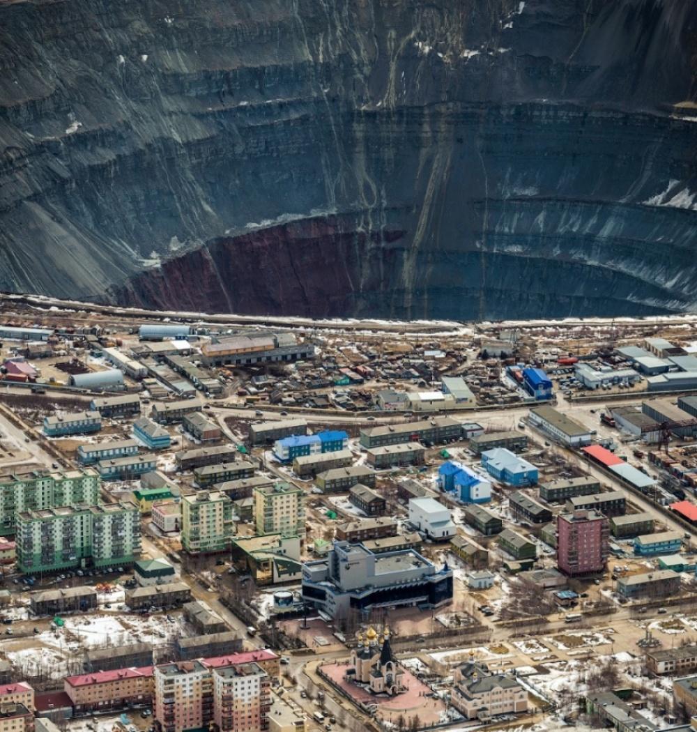 Without Photoshop - Diamond Mine Mirny, Yakutia