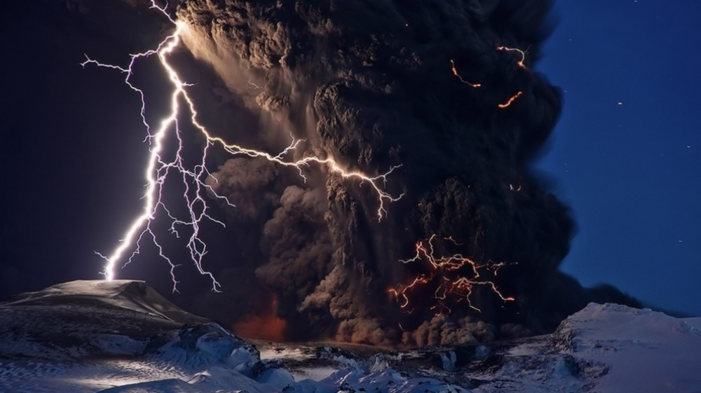 Without Photoshop - Iceland Volcano