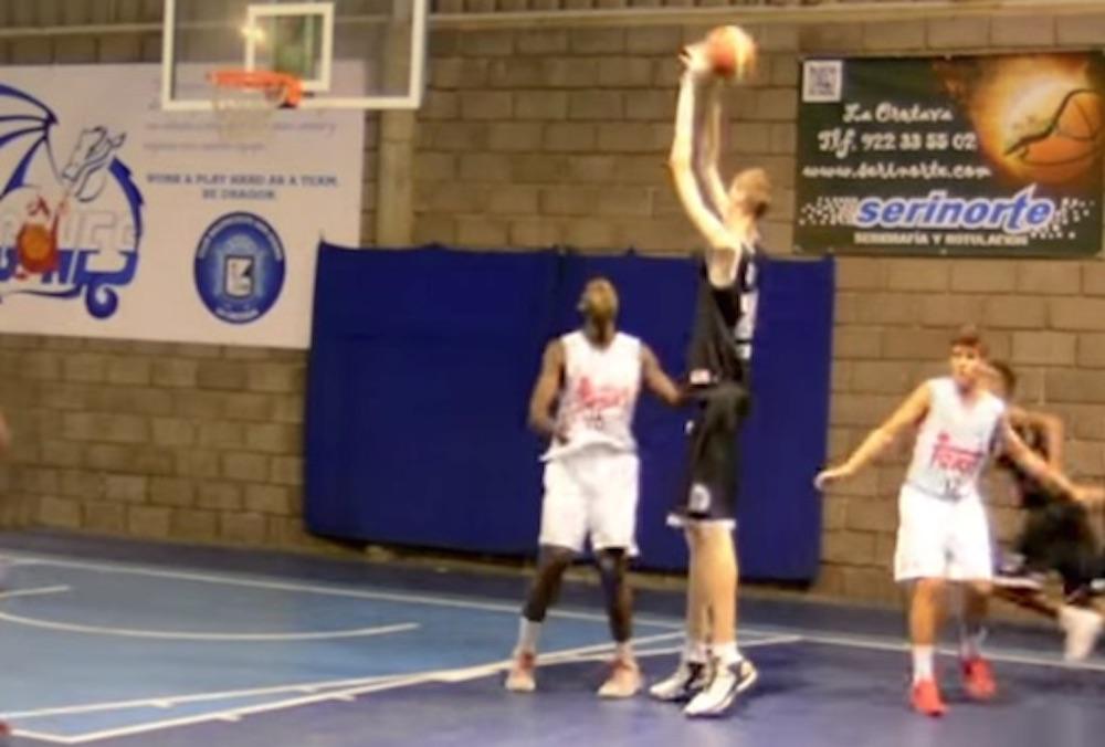 World's Tallest Basketball Player
