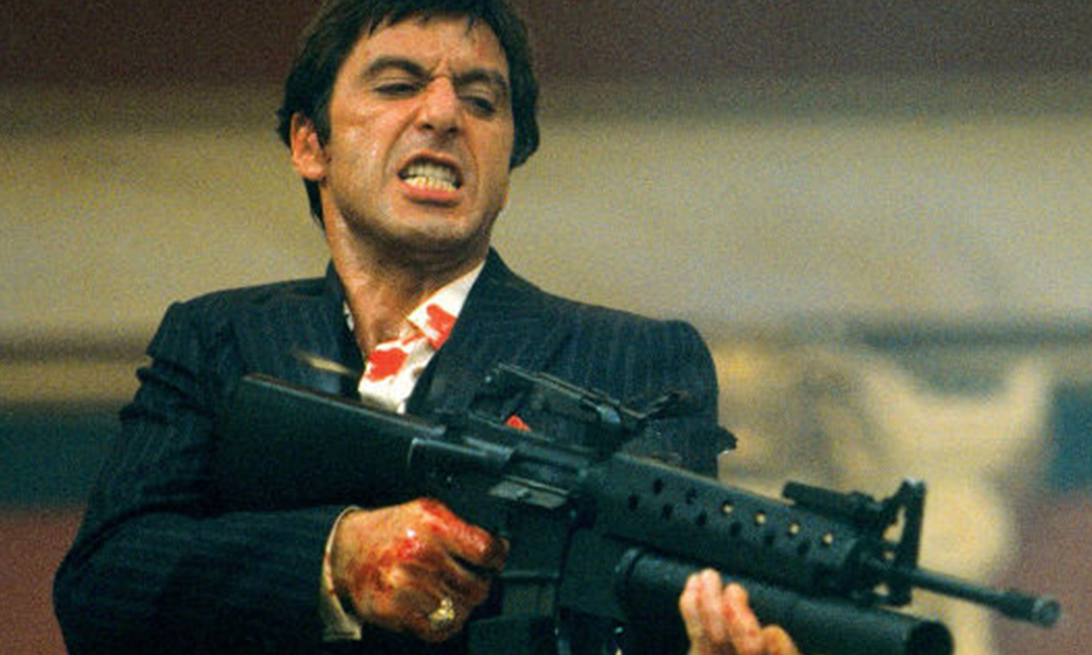 The Absolutely Rude Boy Gun Used In Scarface Is Up For