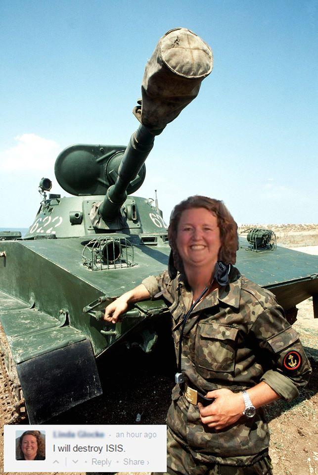 linda clarke tank