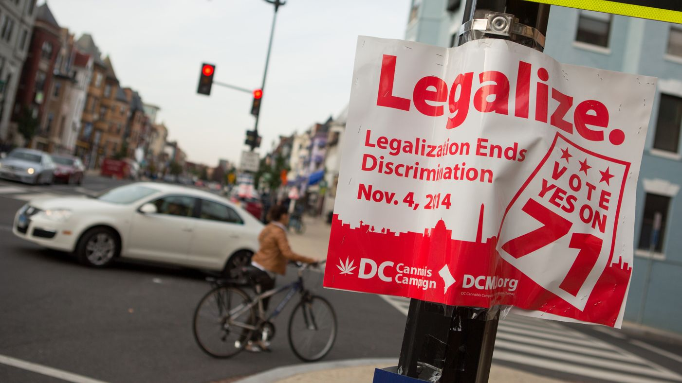 Legalise Washington D.C.