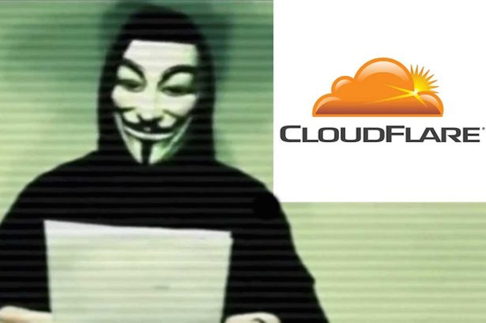 Anonymous Cloudfare