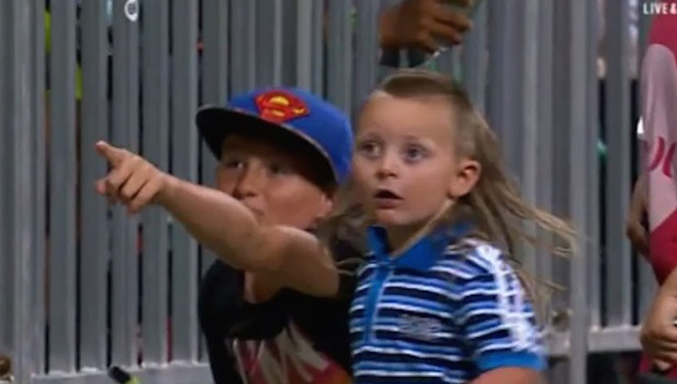 Australian Kid Greatest Mullet