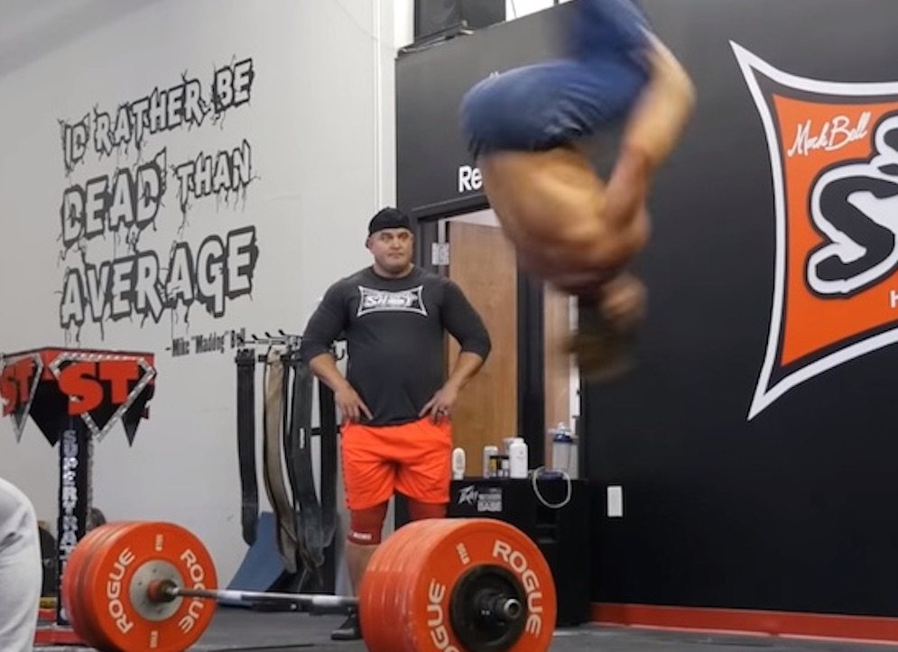 Backflip Deadlifts