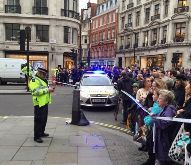 Bomb Scare Regent Street