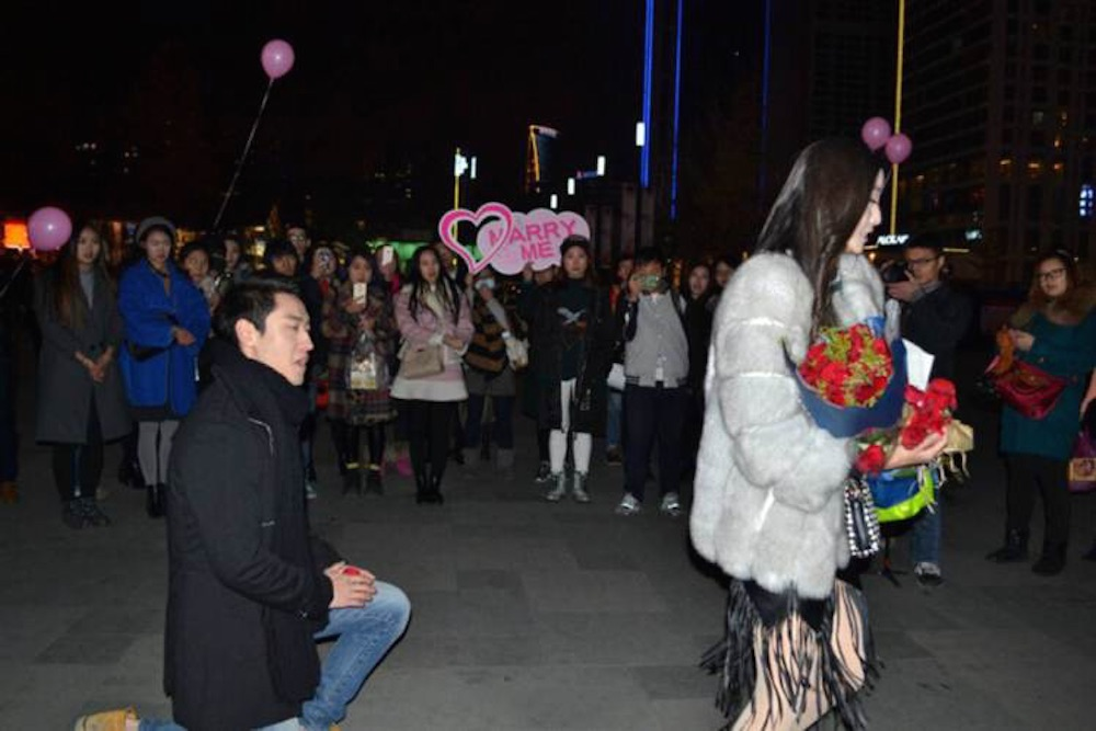 Chinese Guy Proposal