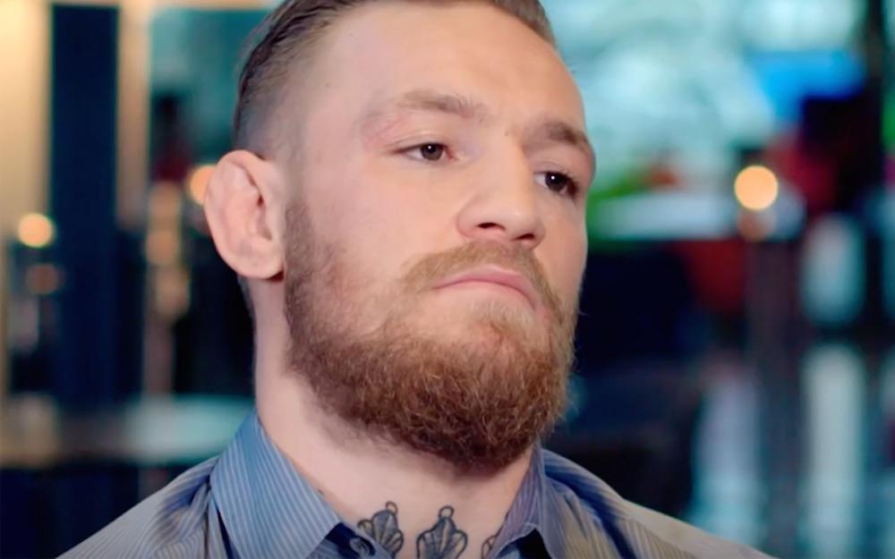 Conor McGregor Upset