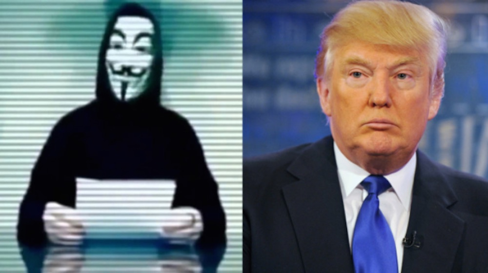 Donald Trump Anonymous