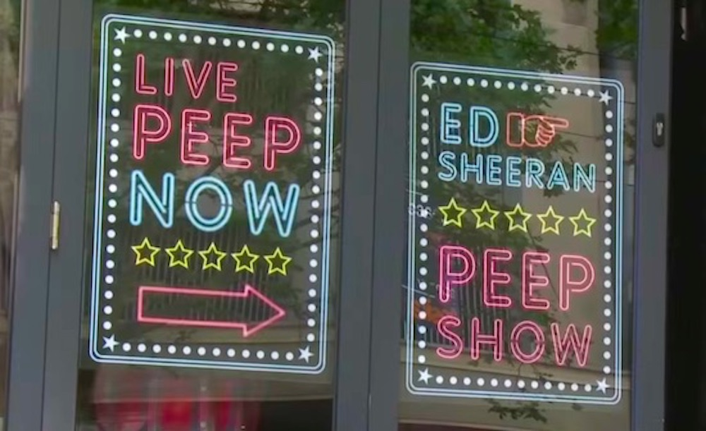 Ed Sheeran Peep Show