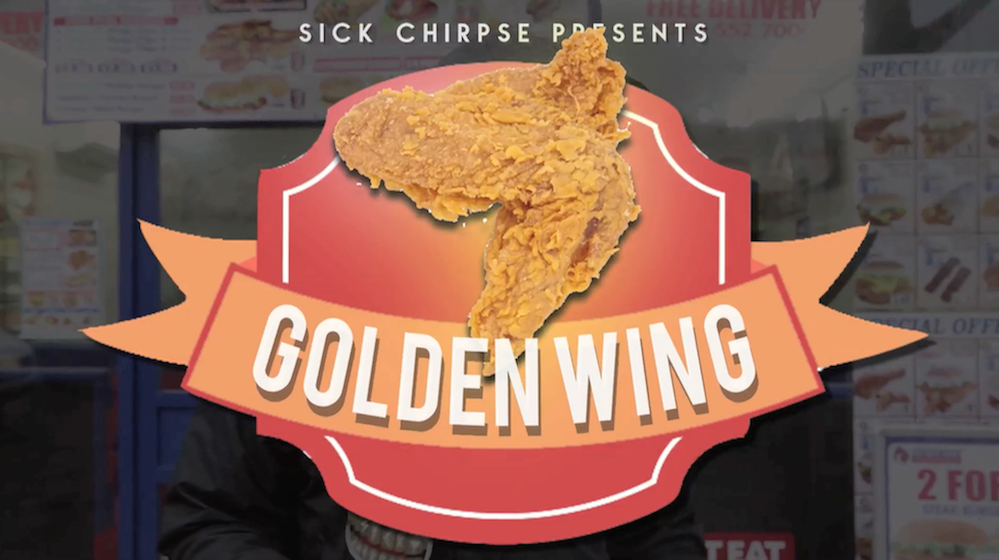 Golden Wing Sick Chirpse