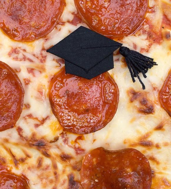Graduation Pizza