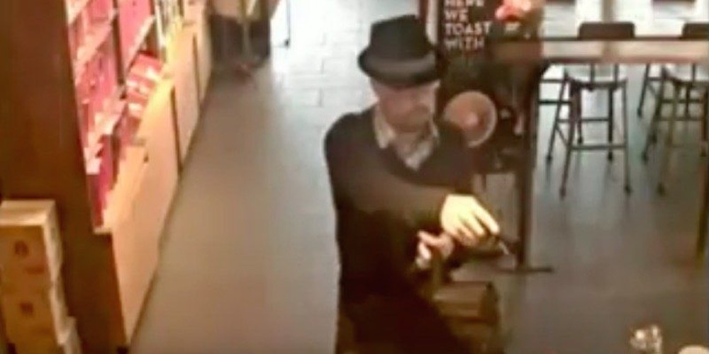 Guy Dresses Up As Heisenberg Robs Starbucks