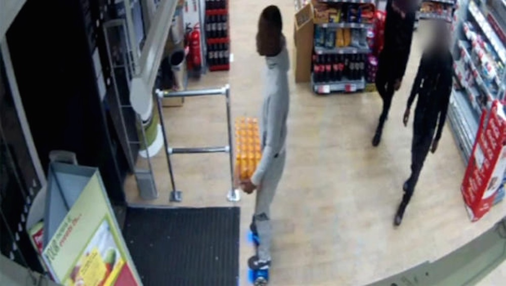 Hoverboard Robbery Lucozade