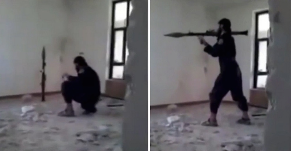 ISIS Fighter Blows Himself Up