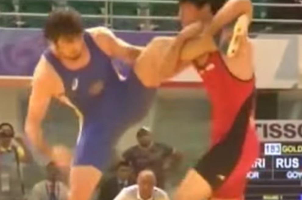 Insane Amateur Wrestling Move