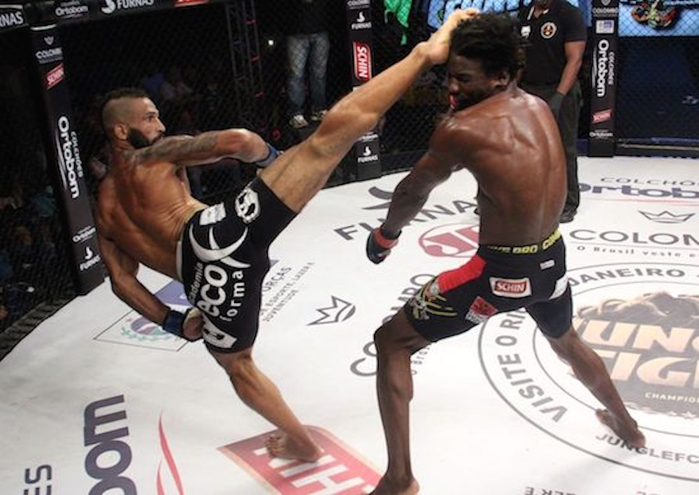 MMA Spinning Knockouts