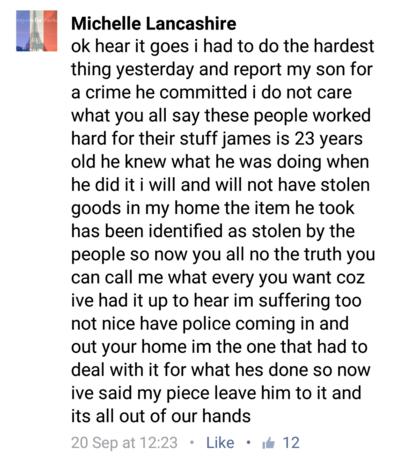 Michelle Facebook 2