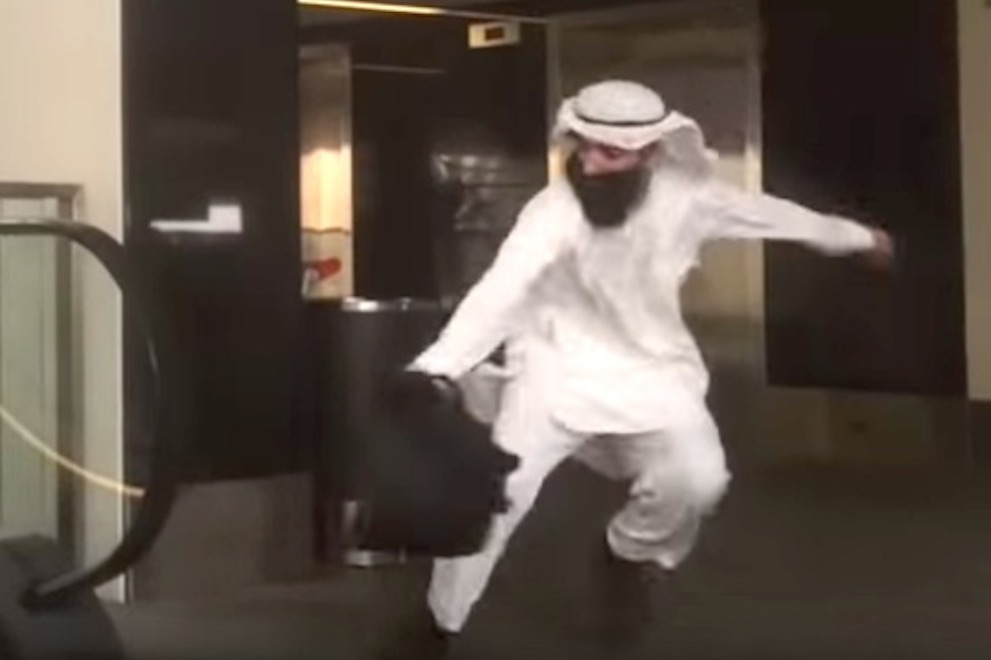 Watch These Pranksters Dress Up In Muslim Attire And Throw