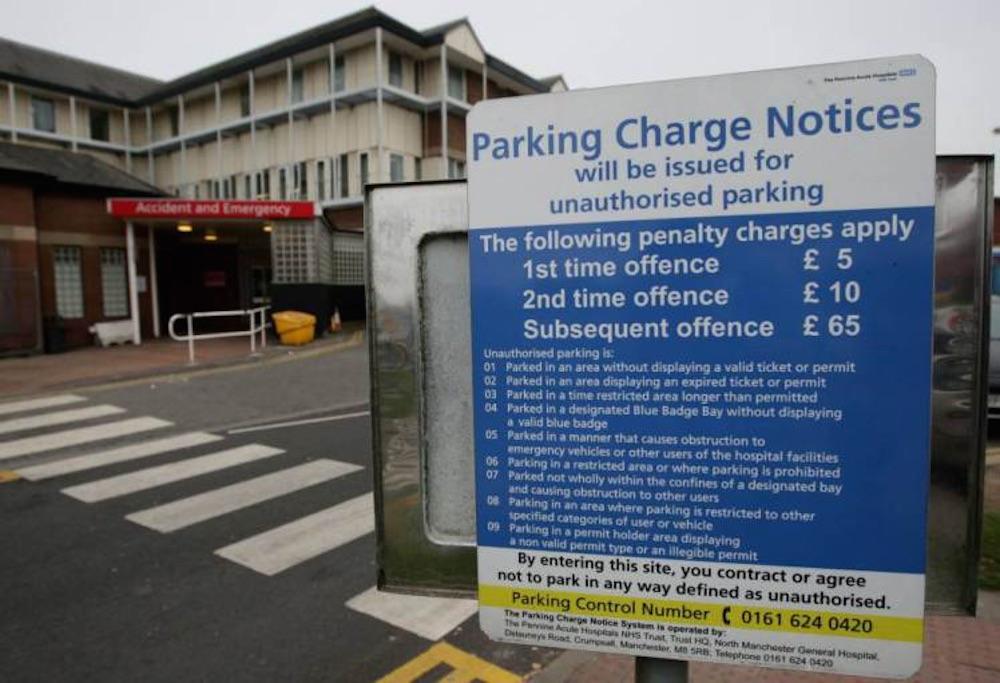 NHS Car Park