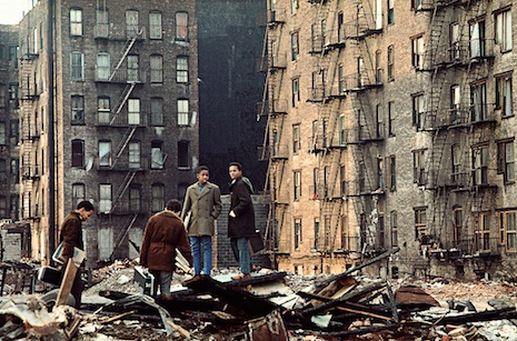Fifth Ave. at 110th St. E. Harlem 1970